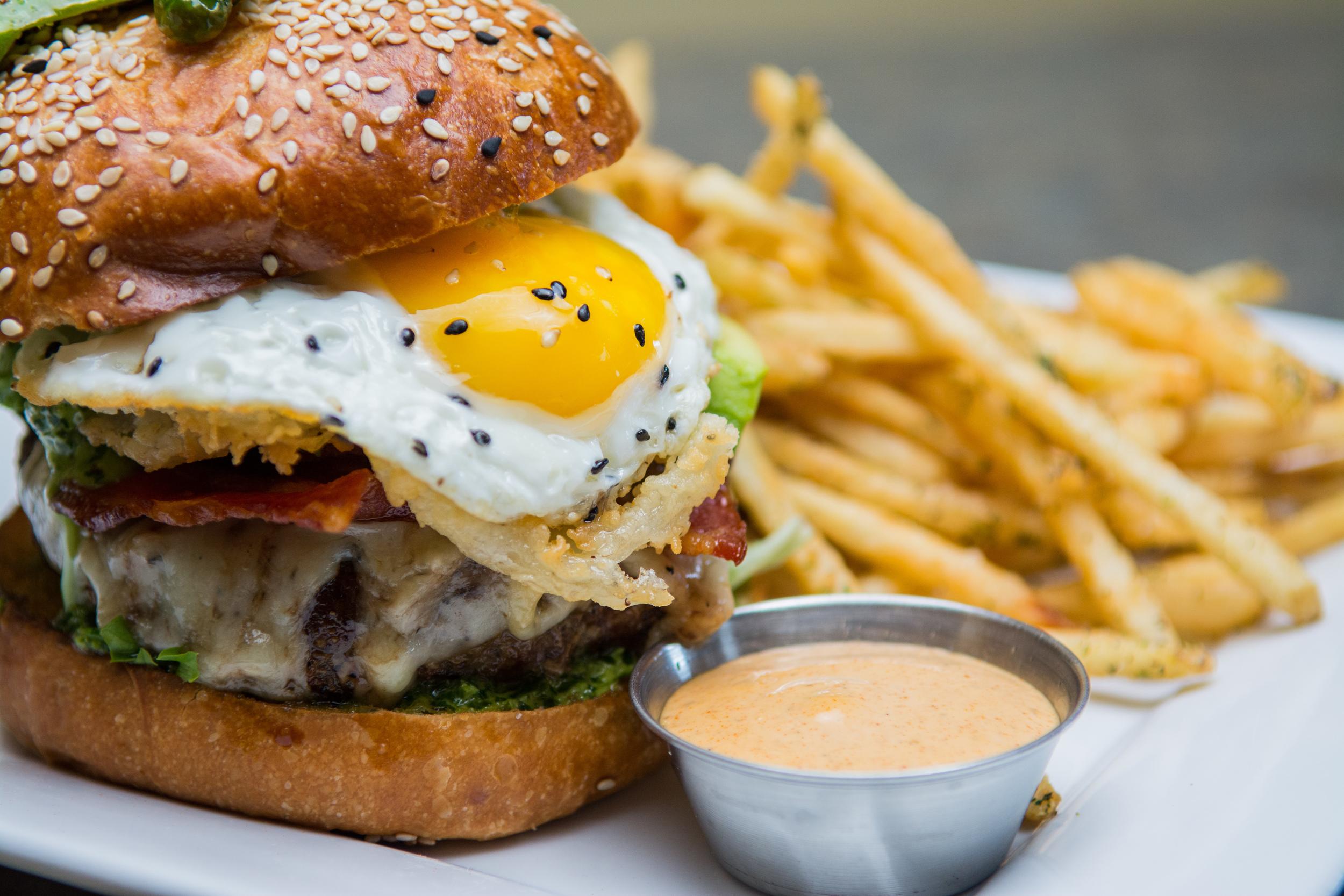 The Dojo Burger! (Photo: Petrichor Photo)