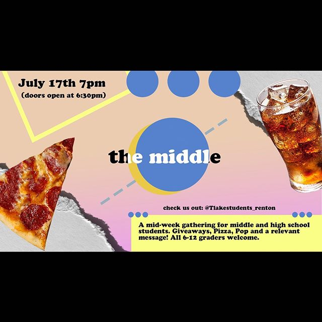 Only a couple more days until the middle hope you can make it!!