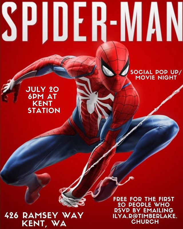 MSM/HSM students be sure to sign up and watch Spider-Man with us!!