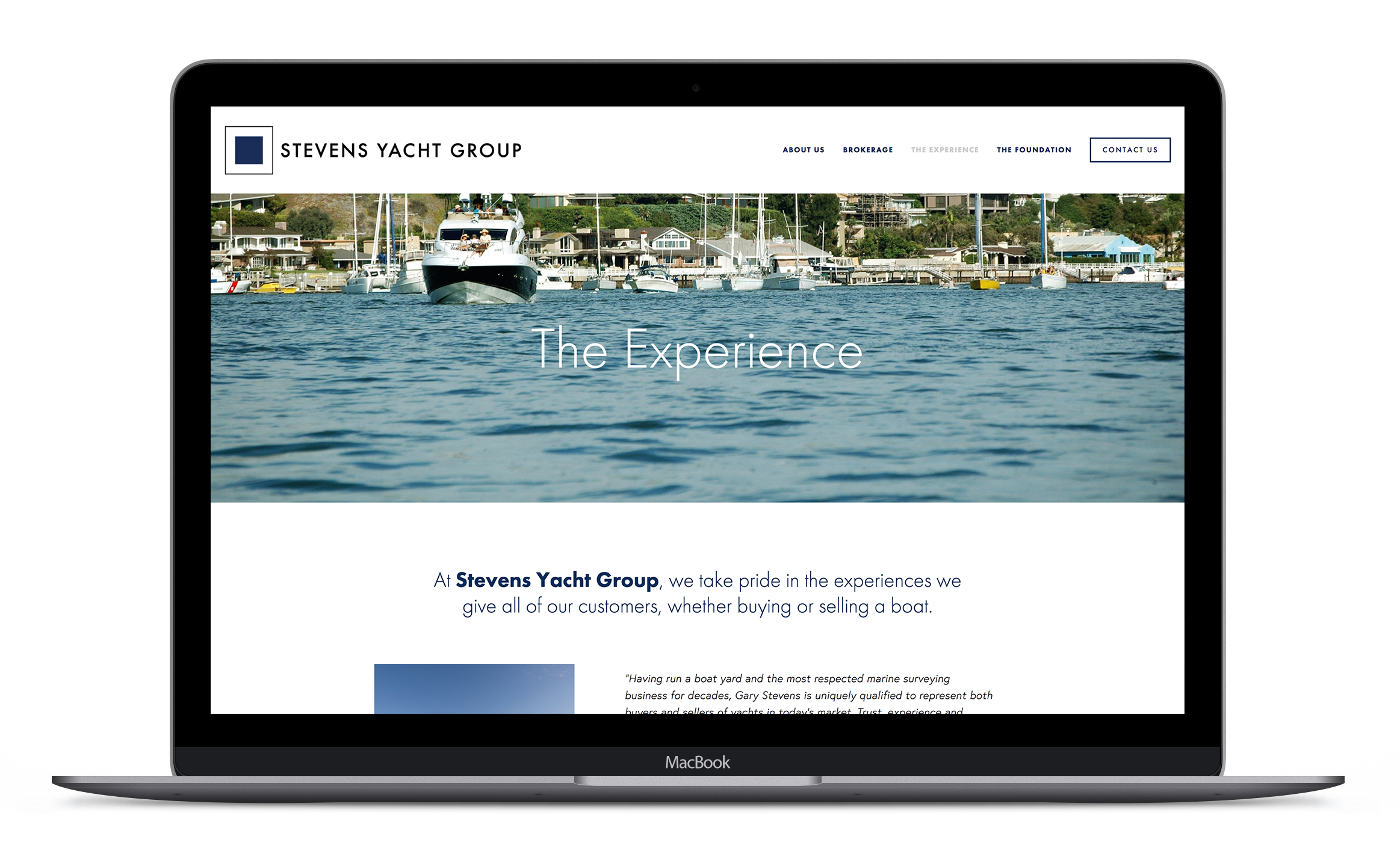 Portfolio---Stevens-Yacht-Group---Website---The-Experience.png