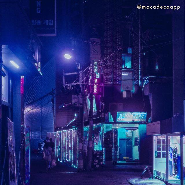 1 photo, 3 ways.  Edited with #neoseoul filters.  #mocadeco#mocadecoapp#cyberpunk#vaporwave#vaporwaveart#vaporwavevibes#aesthetic#synthwave#digitalart#VHS#futurecity#scifi#lofi#bladerunner#neoncity#newtrowave#overlays #photooverlay#grainyphoto#photography#cityscape #사이버펑크 #네오서울