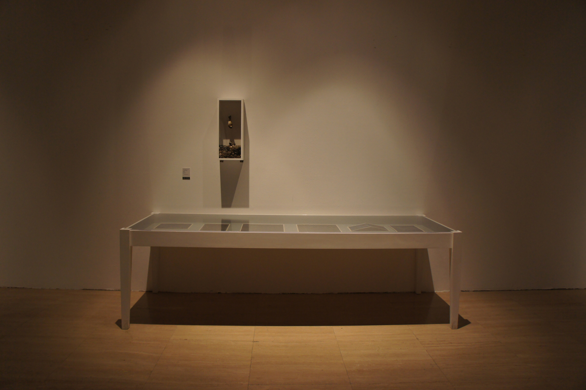 Hao Liang 郝量, Everything About Him 关于他的一切, 2012 (Installation View 展示效果图)