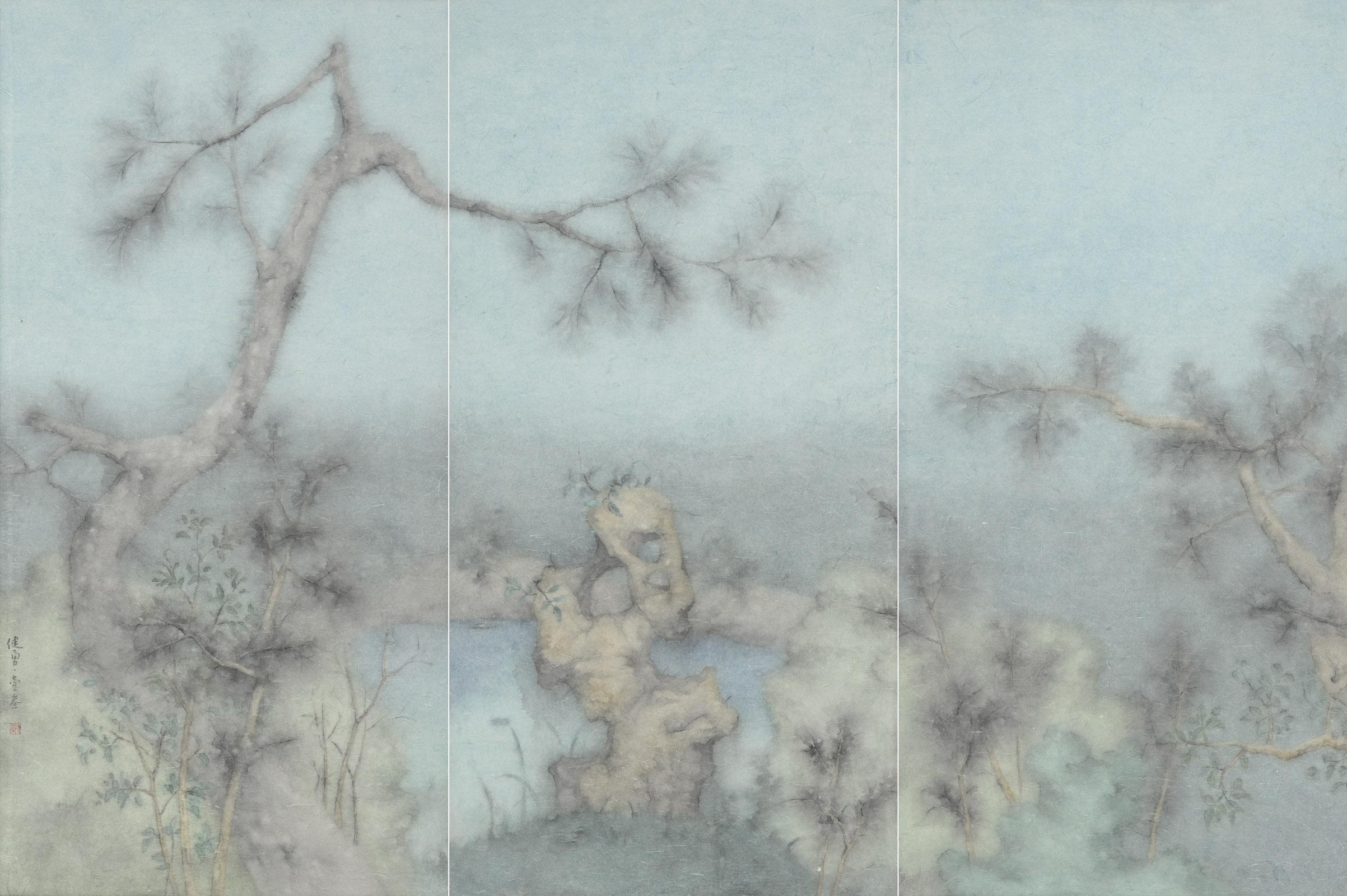 Zeng Jianyong 曾健勇, Specimen of the Hometown Garden No.2 故园标本之二, 2013, 144 x 72 cm x 3