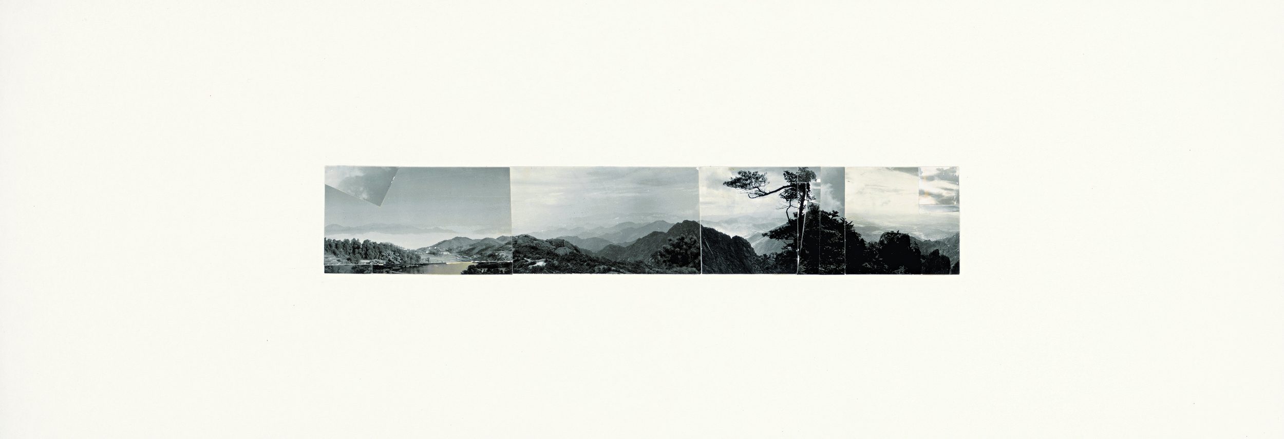 Ni Youyu 倪有鱼, Freewheeling Trip Ⅰ 逍遥游 1, 2011 - 2012, Collage 拼贴, 20 × 60 cm