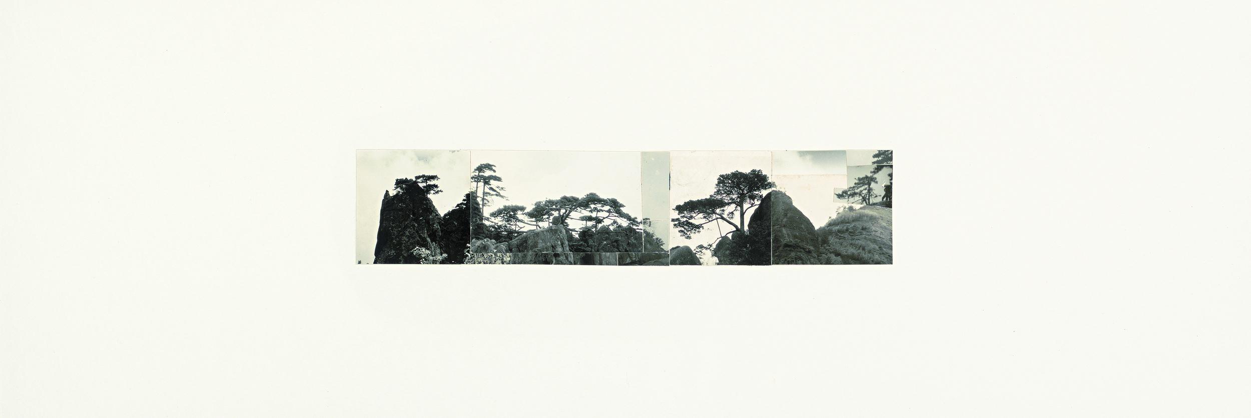 Ni Youyu 倪有鱼, Freewheeling Trip ⅠV 逍遥游 4, 2011 - 2012, Collage 拼贴, 20 × 60 cm