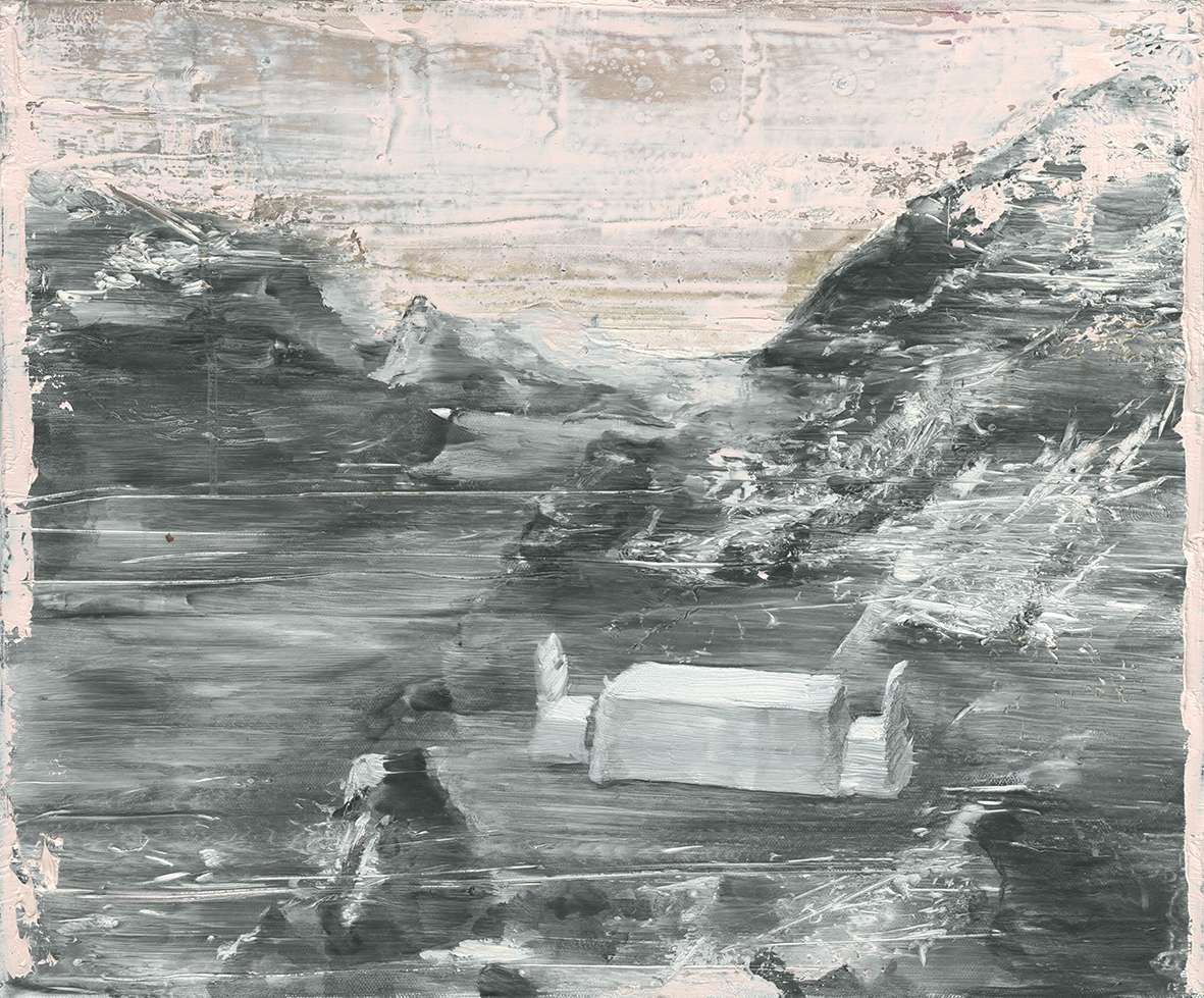 Tu Xi 涂曦, Grand Banquet 盛宴, 2012, Oil on canvas 布面油画, 50 x 60 cm