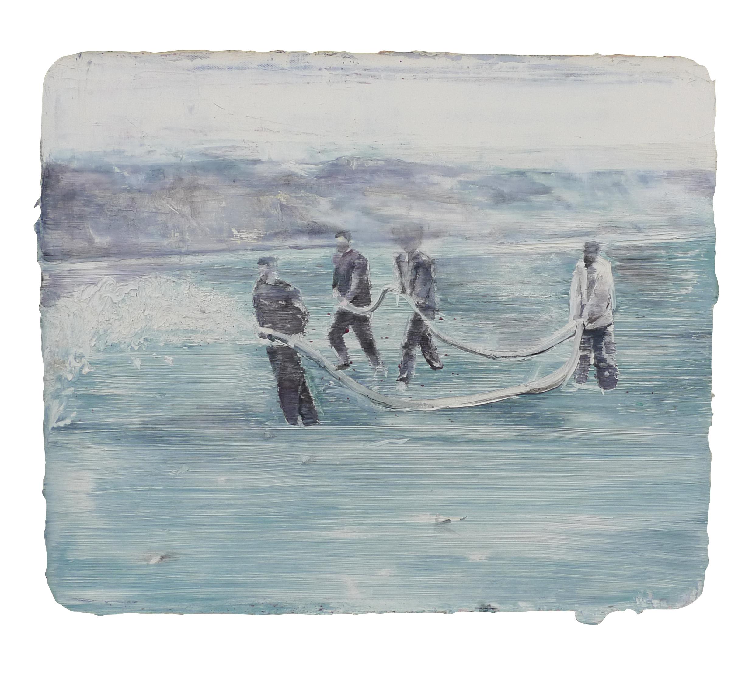 Tu Xi 涂曦, Spring 泉, 2014, Oil on canvas 布面油画, 50 x 60 cm