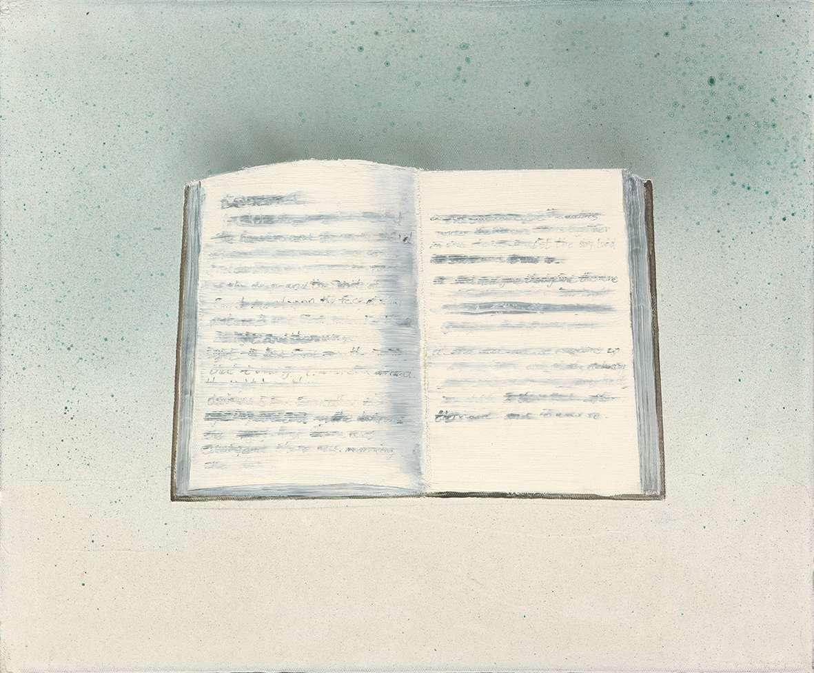 Tu Xi 涂曦, Record 记录, 2013, Oil on canvas 布面油画, 50 x 60 cm