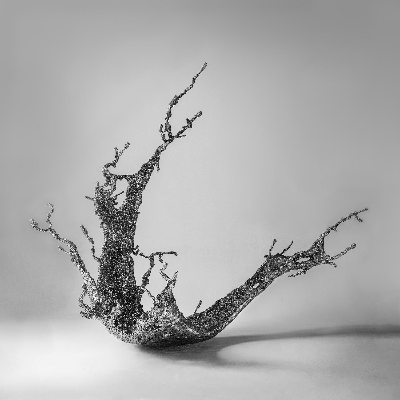 Zheng Lu 郑路, Water in Dripping No.7 淋漓之七, 2013, Stainless Steel 不锈钢, 150 x 130 x 160 cm