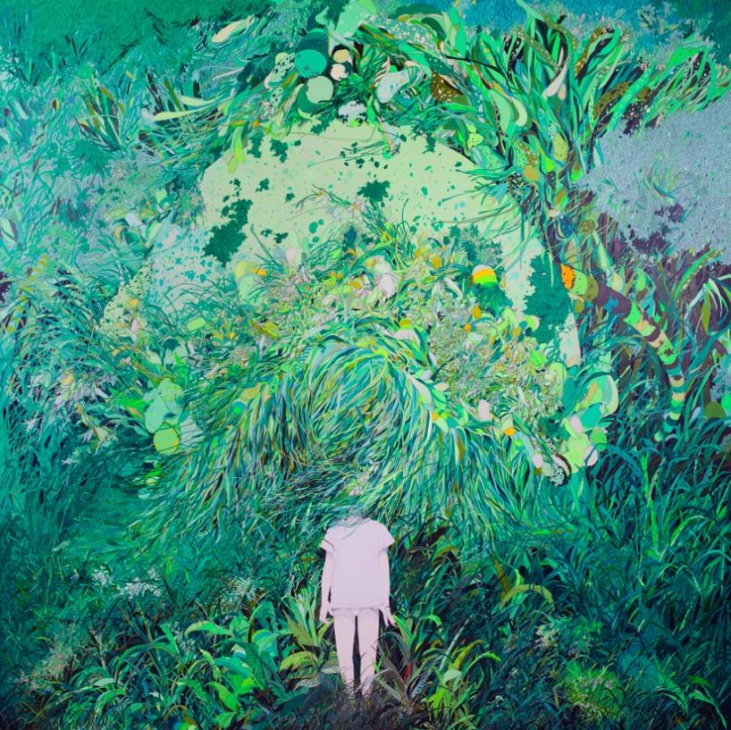 Zhou Fan 周范, Those Got Taken Away by Sleep 那些被睡眠带走的, 2010, Acrylic on canvas 布面丙烯, 200 x 200 cm