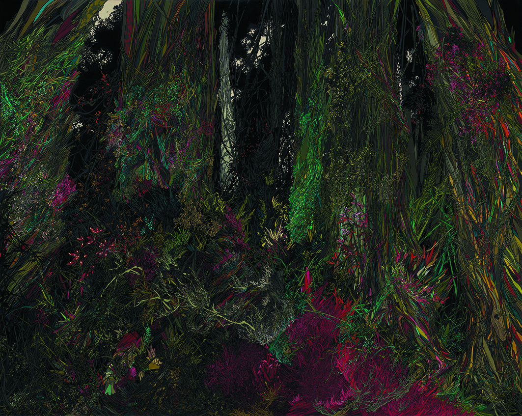Zhou Fan 周范, Wetland I 滩涂 1, 2012, Acrylic on canvas 布面丙烯, 160 x 200 cm