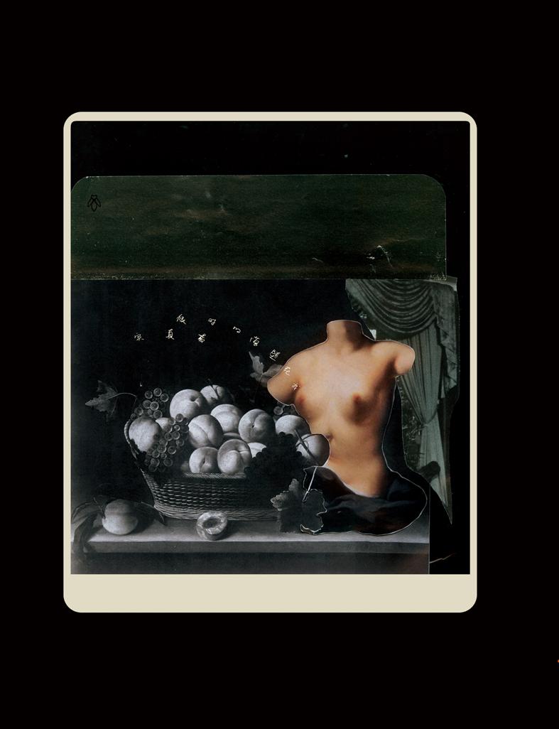 Wu Di 吴笛, Poker Peace 扑克和平, 2012, Collage 拼贴, 54 x 39 cm