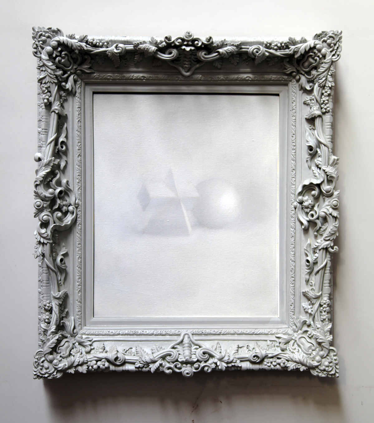 Gao Weigang 高伟刚, Misapprehend 误会, 2008-2012, Oil on canvas 布面油画, 88 x 78 cm