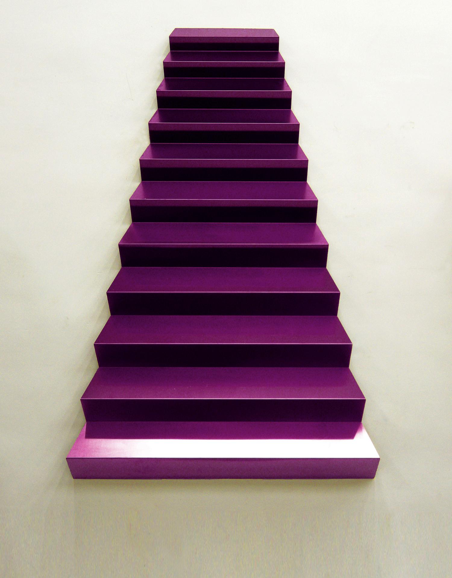 Gao Weigang 高伟刚, Supersturcture 上层建筑, 2011, Stainless steel and titanium 不锈钢、钛金, 180 x 120 x 12.5cm