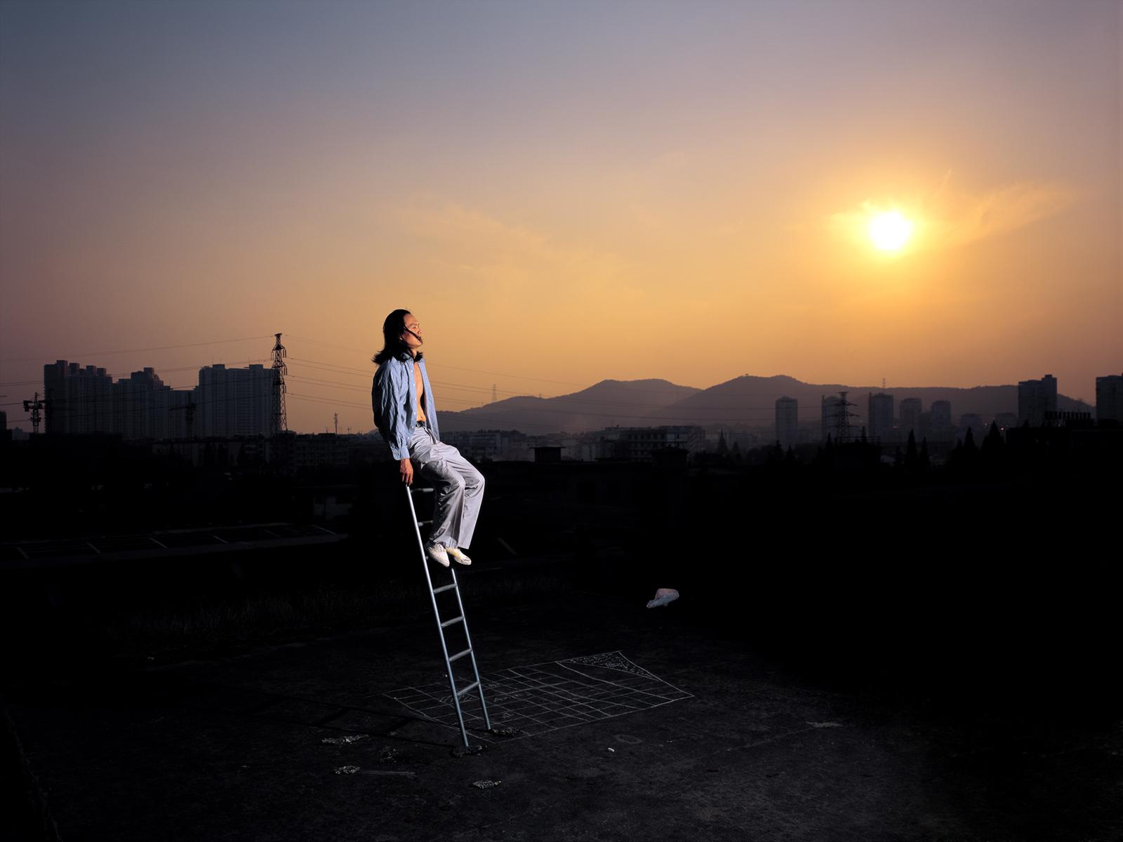 Chen Wei 陈维, A Kind Of Mensuration, 2007, Archival inkjet print 收藏级艺术微喷, 120 x 160 cm