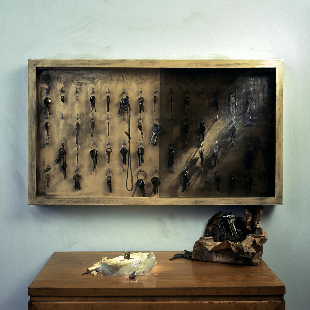 Chen Wei 陈维, The Augur's Game No.4, 2007, Archival inkjet print 收藏级艺术微喷, 80 x 80 cm
