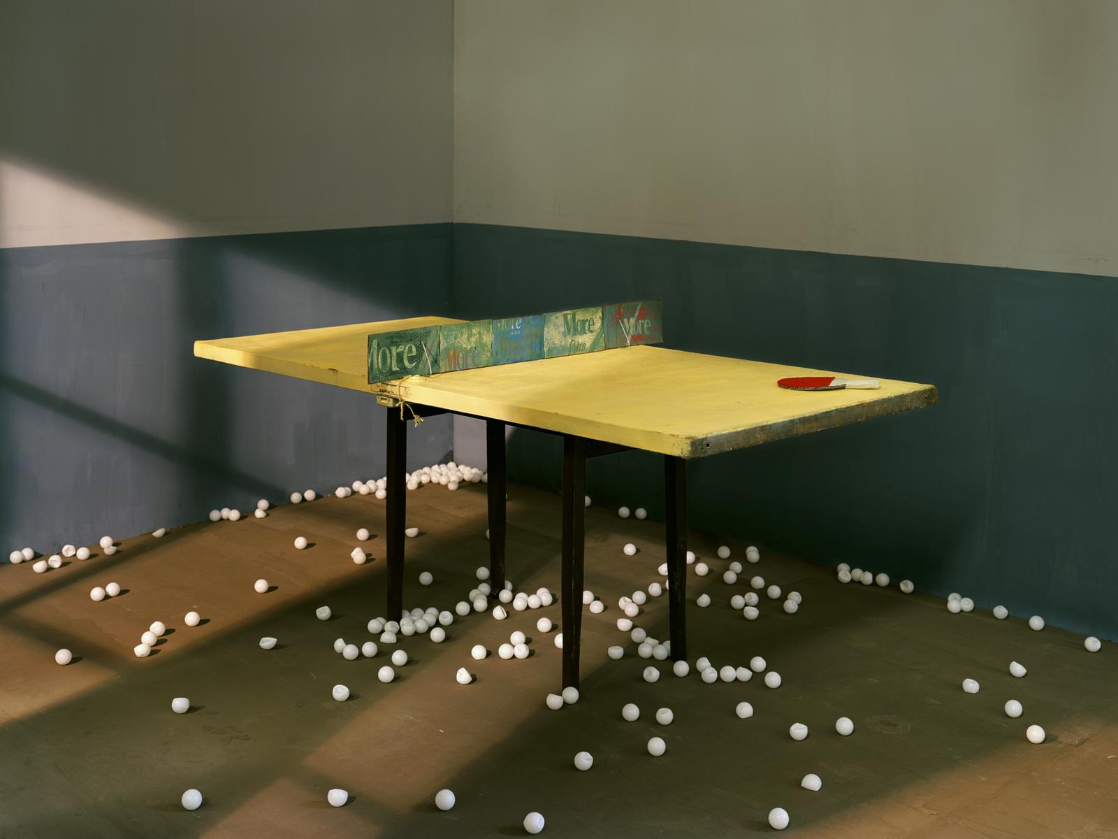 Chen Wei 陈维, Ping Pong, 2011, Archival inkjet print 收藏级艺术微喷, 150 x 200 cm