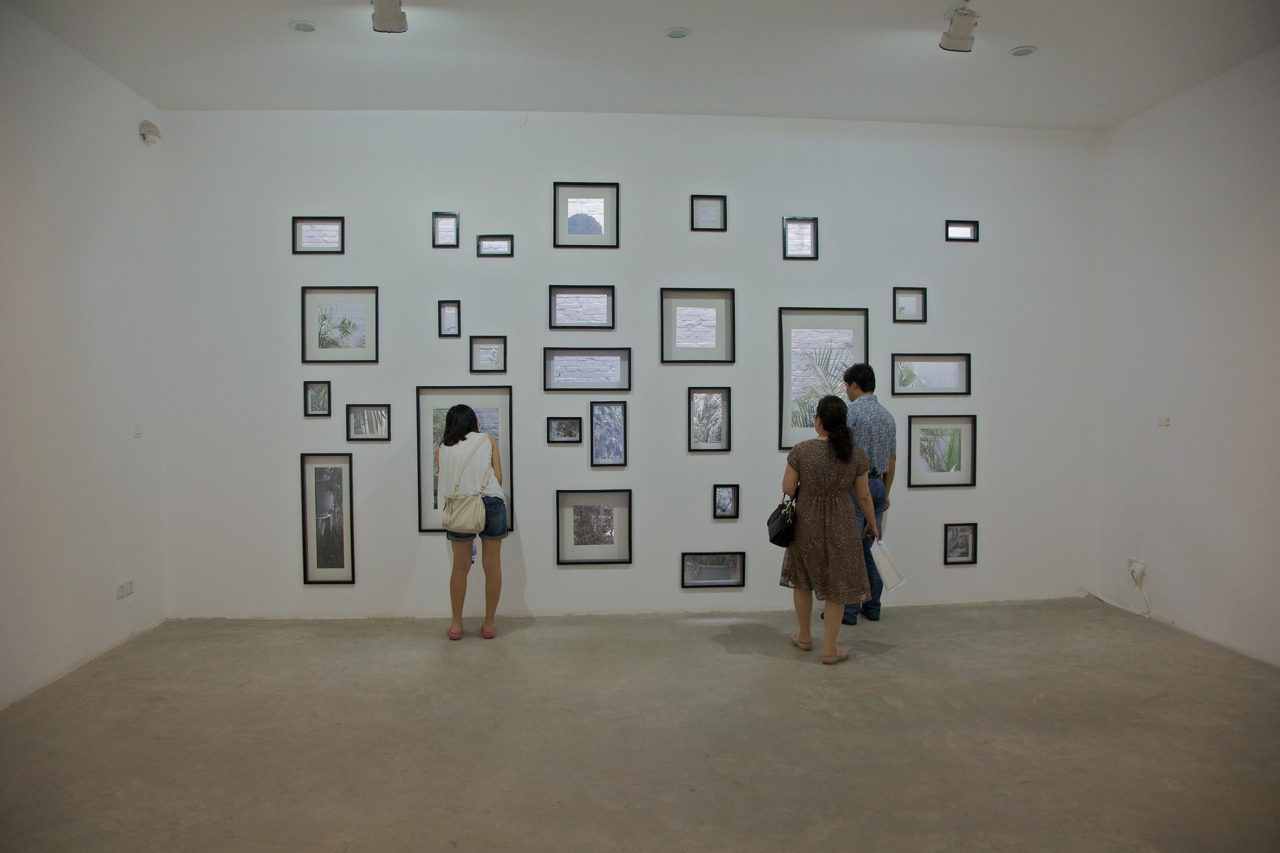 Ji Zhou 计洲, Back Garden 后花园, 2011, Mixed media installation 综合媒体装置, Dimension variable 尺寸可变