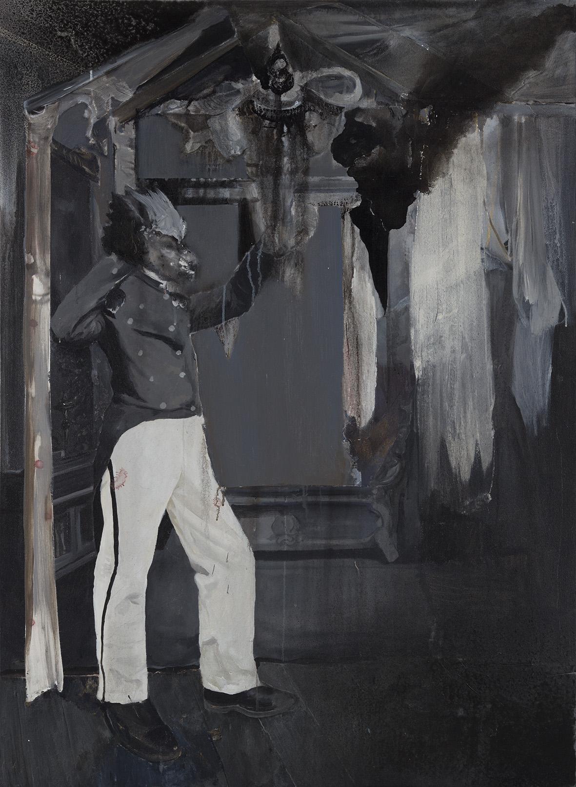 Chen Yujun 陈彧君, Ceremoney NO.1 仪式No.1, 2010, Acrylic on canvas 布面丙稀, 150 x 110 cm