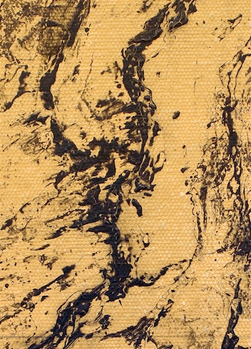 Ni Youyu, Big Waterfall II (detail)