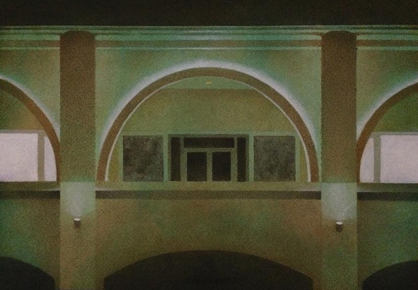 Liu Liu 刘流, Light, Air and Emotion 光、空气与情感, 2017, Watercolor on paper 纸上水彩, 18 x 26 cm