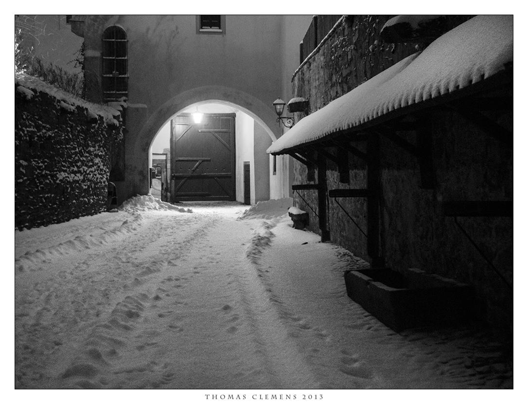 Bautzen im Schnee