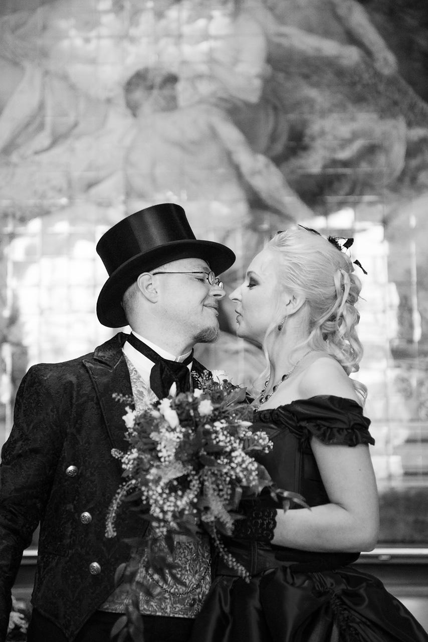 Viktorianische Hochzeit Tanja und Sven