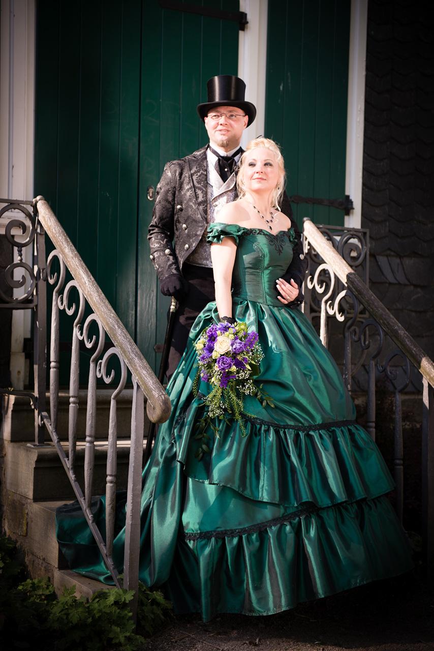 Viktorianische Hochzeit Tanja+Sven