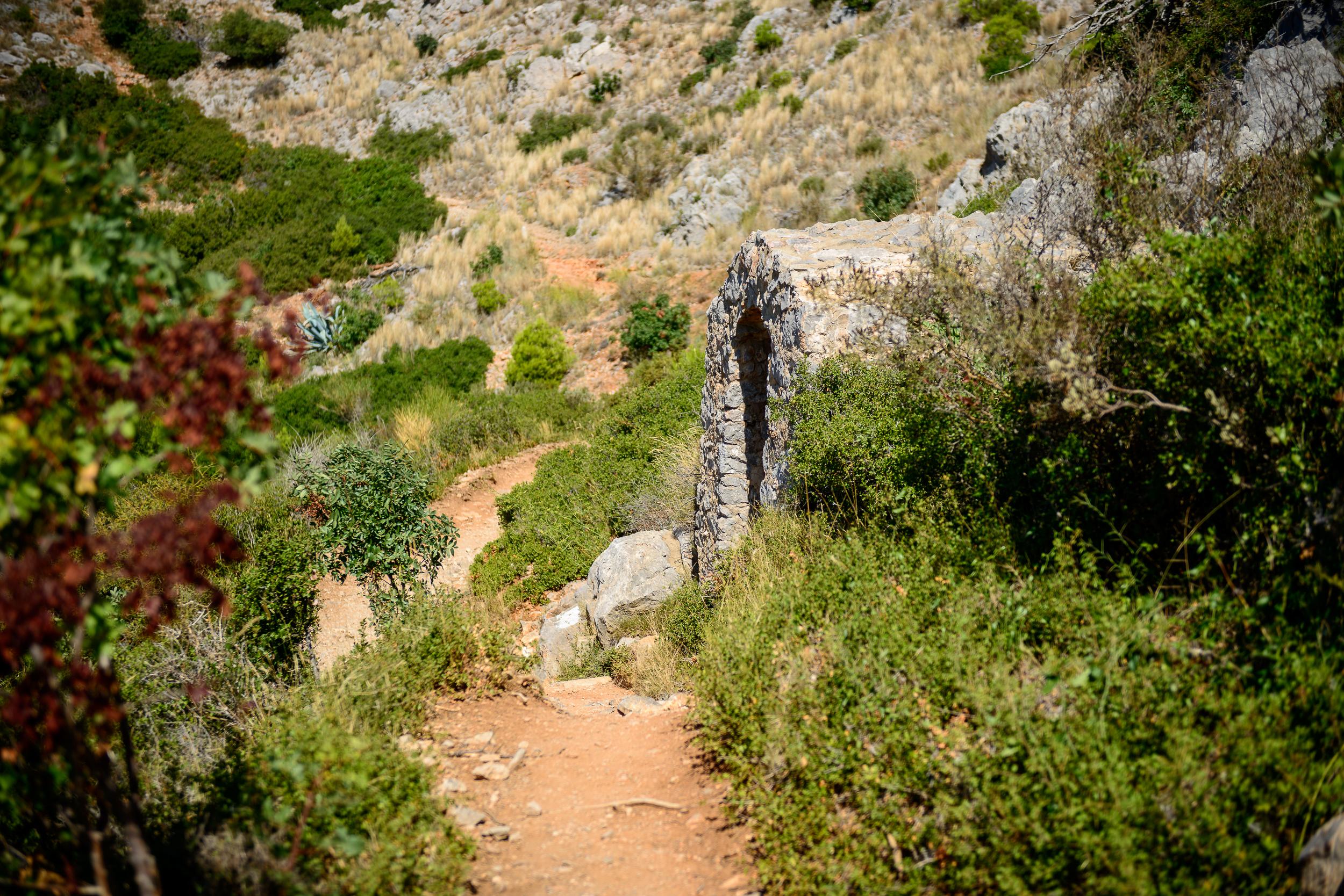 Torroella de Montgrí - Weg zum Castell del Montgrí