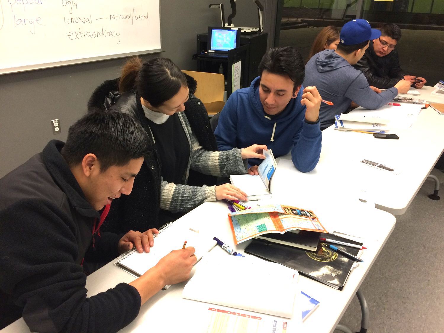 Level 2 Semi-Intensive ESL - Spring 2015