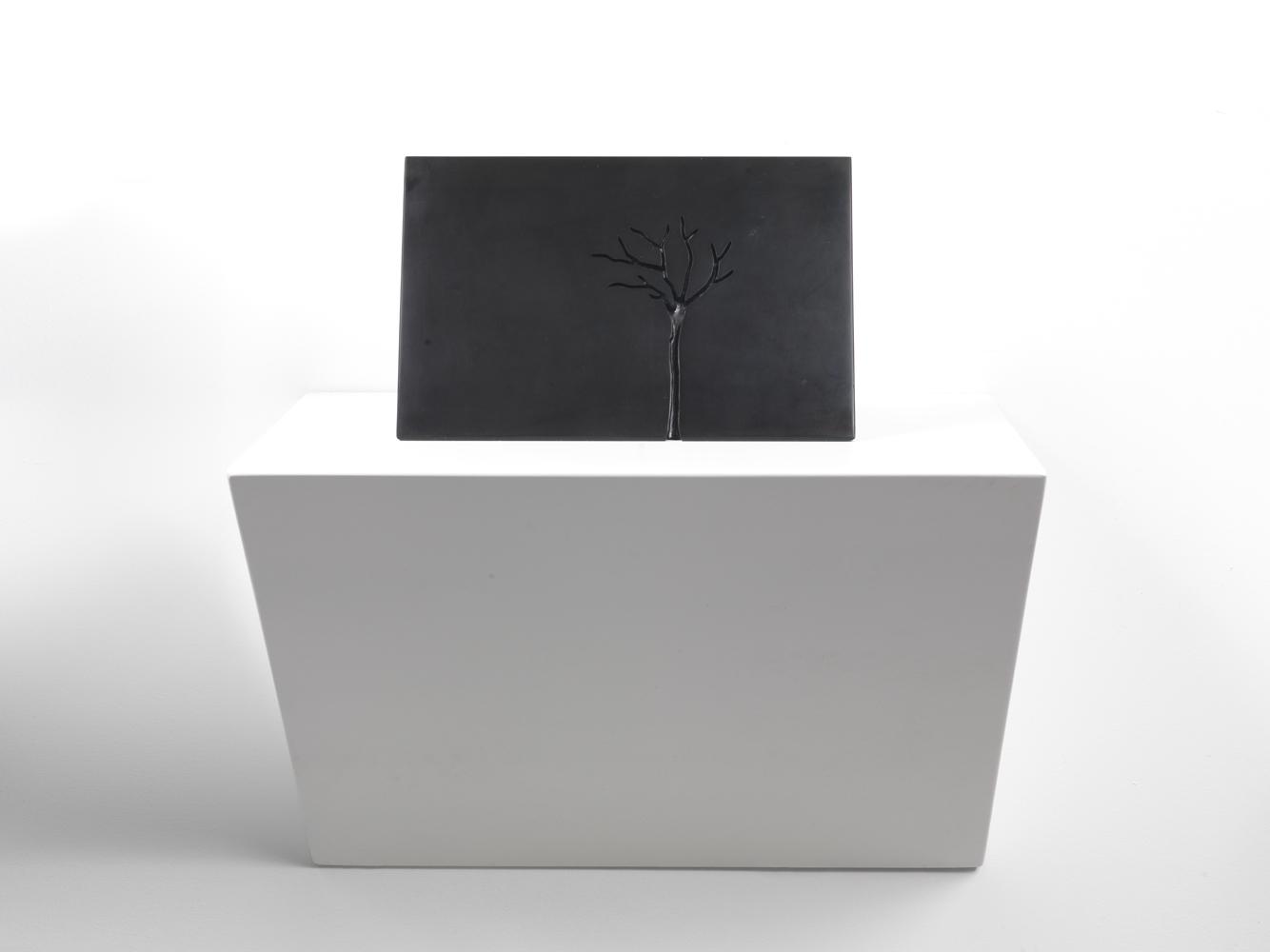 m- arbre1 ,2012 marmo nero di Belgio/black belgian marble