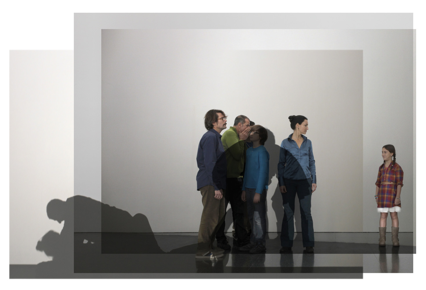 Family Ties , 2012, Prints on barite paper, 6mm forex, aluminum frame 111 x 163.2 cm Edition 3 + 1AP Edition 3 of 3