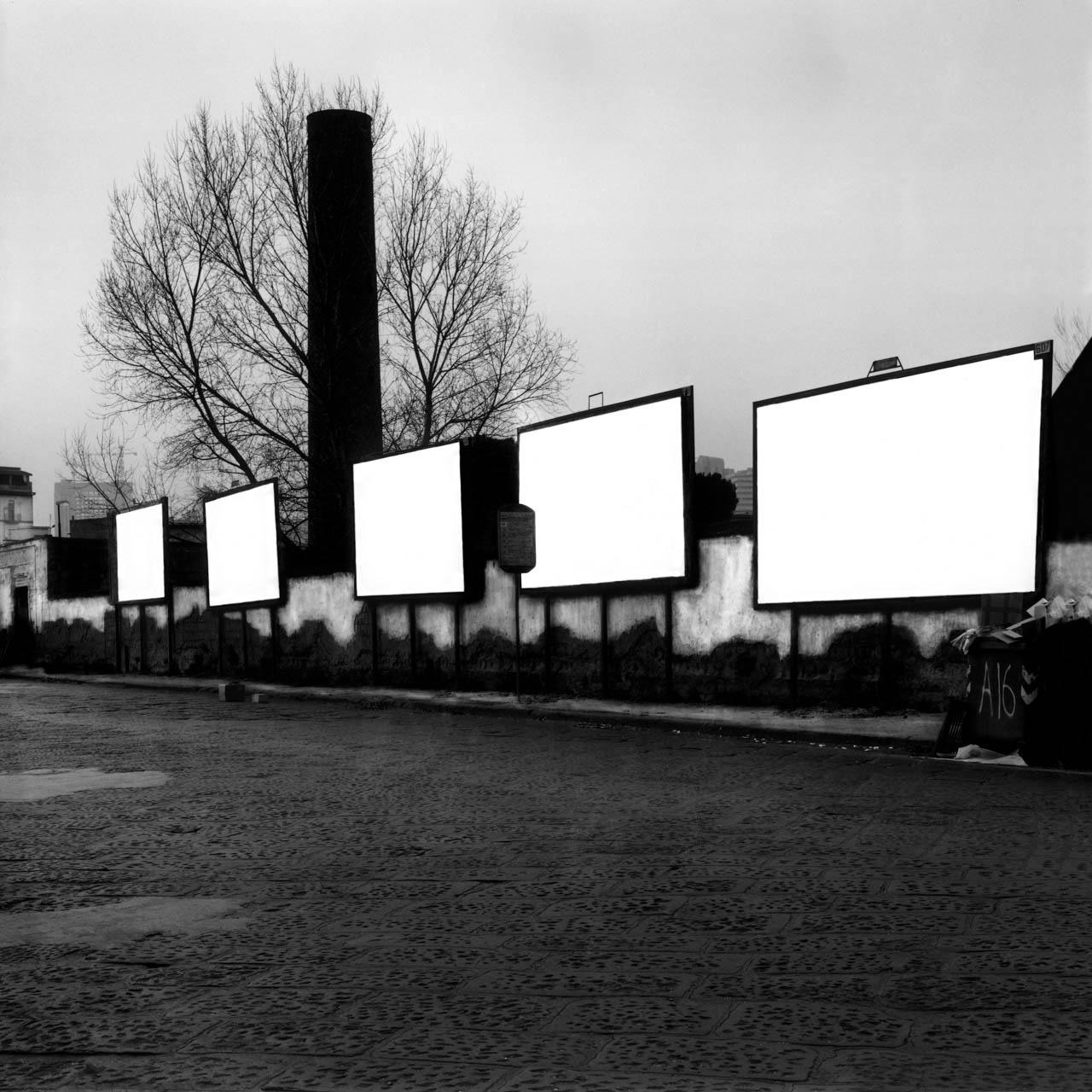Manifattura tabacchi, Via G. Ferraris, 2001 Stampa digitale su carta Hahnemuhle, cm 100x100 / 120x120 / 140x140 (ed. 6 + 1AP)