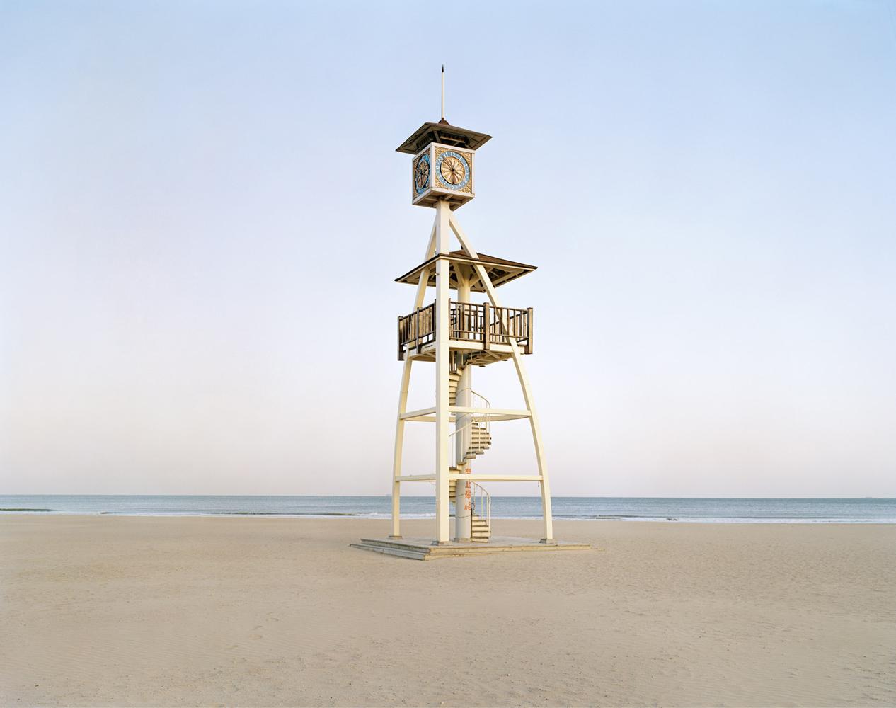 Shilaoren Bathing Beach ,   Qingdao 2014 Archival Print su carta cotone cm 110 x 140 (60x80) ed 5