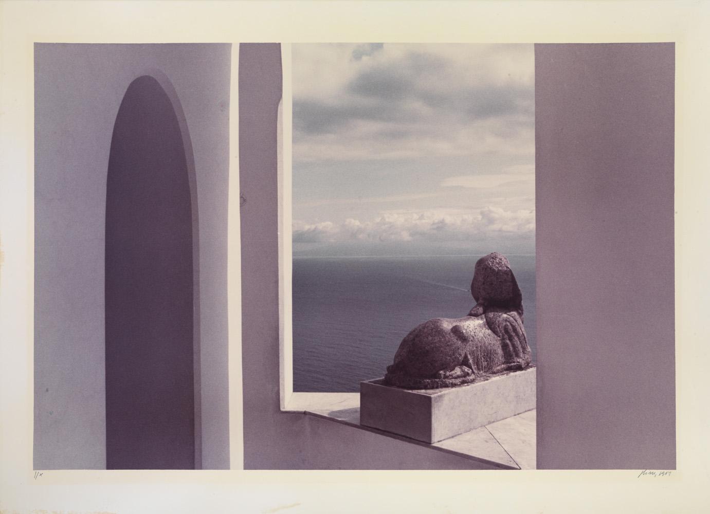 Luigi Ghirri  Capri un pretesto  Certosa di San Giacomo 01.07.1983