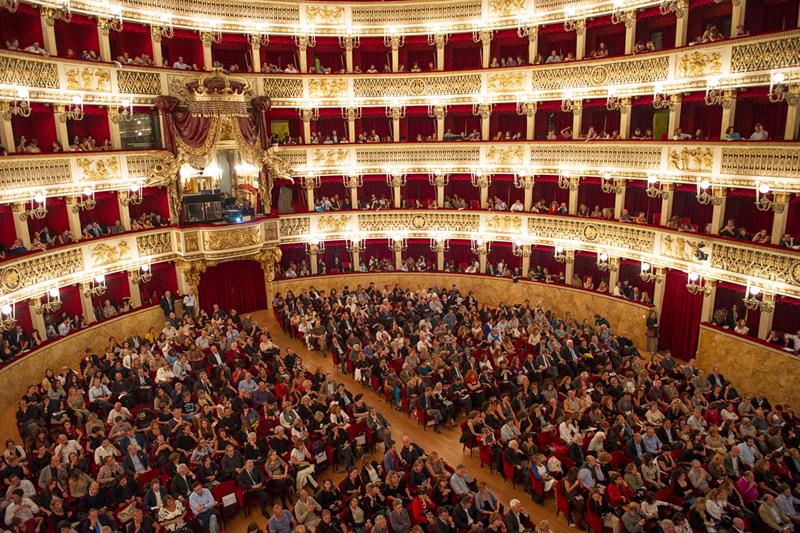 Artecinema 18 , 2013. Inaugurazione al San Carlo (Opening at S. Carlo Opera House)