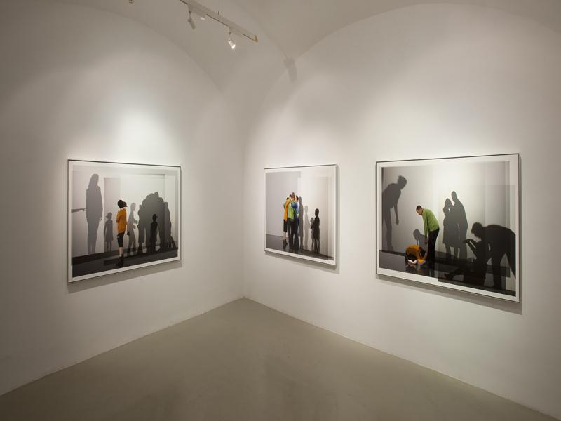 we are one body,family ties  installation view, studio trisorio napoli