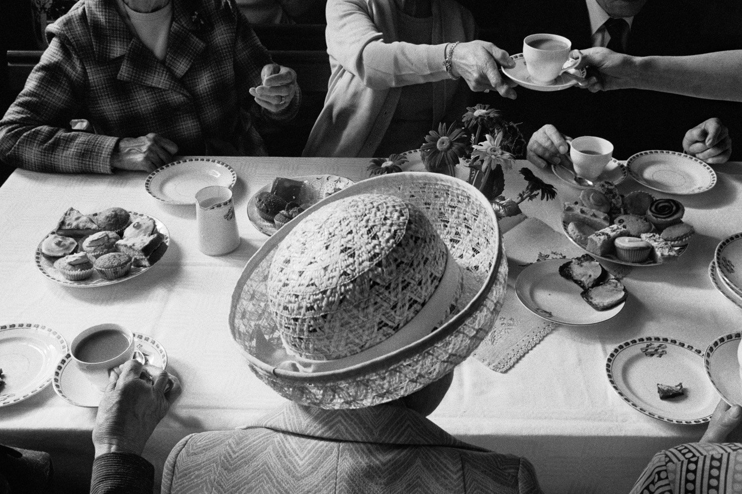 Great Britain, Yorkshire Boulderclough Methodist Chapel (Anniversary Tea) 1978 gelatin silver print (printed 2010), 20.5 x 40 cm uneditioned