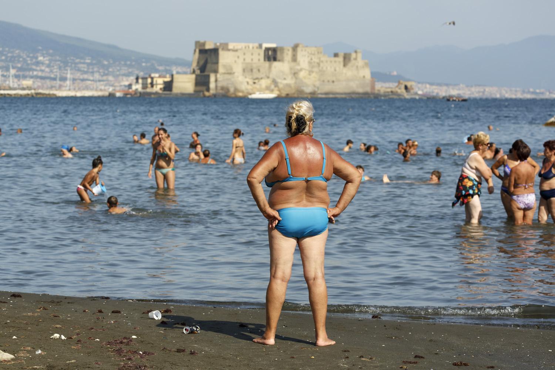 The Amalfi Coast, Italy. Napoli 2014 Pigment Printcm 65x90 ed. 1\10 (cm 100x150 ed. of 5) © Martin Parr / Magnum Photos / Studio Trisorio