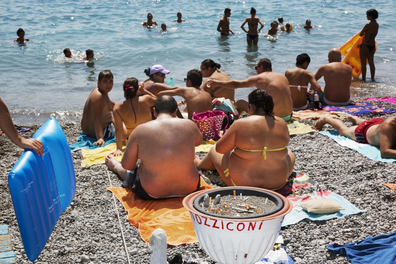 The Amalfi Coast  Amalfi 2013, Pigment Print cm 65x90 ed. 1\10 (cm 100x150 ed. of 5) © Martin Parr / Magnum Photos / Studio Trisorio