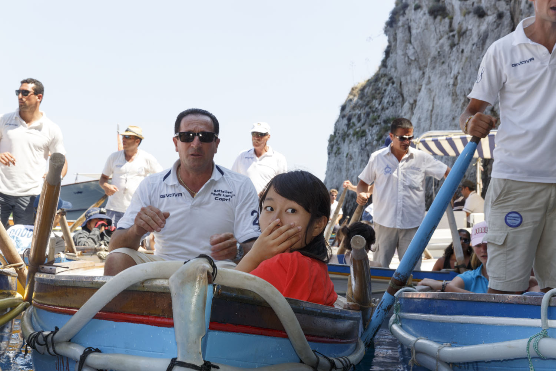 The Amalfi Coast  Capri 2014, Pigment Print cm 65x90 ed. 1\10 (cm 100x150 ed. of 5) © Martin Parr / Magnum Photos / Studio Trisorio