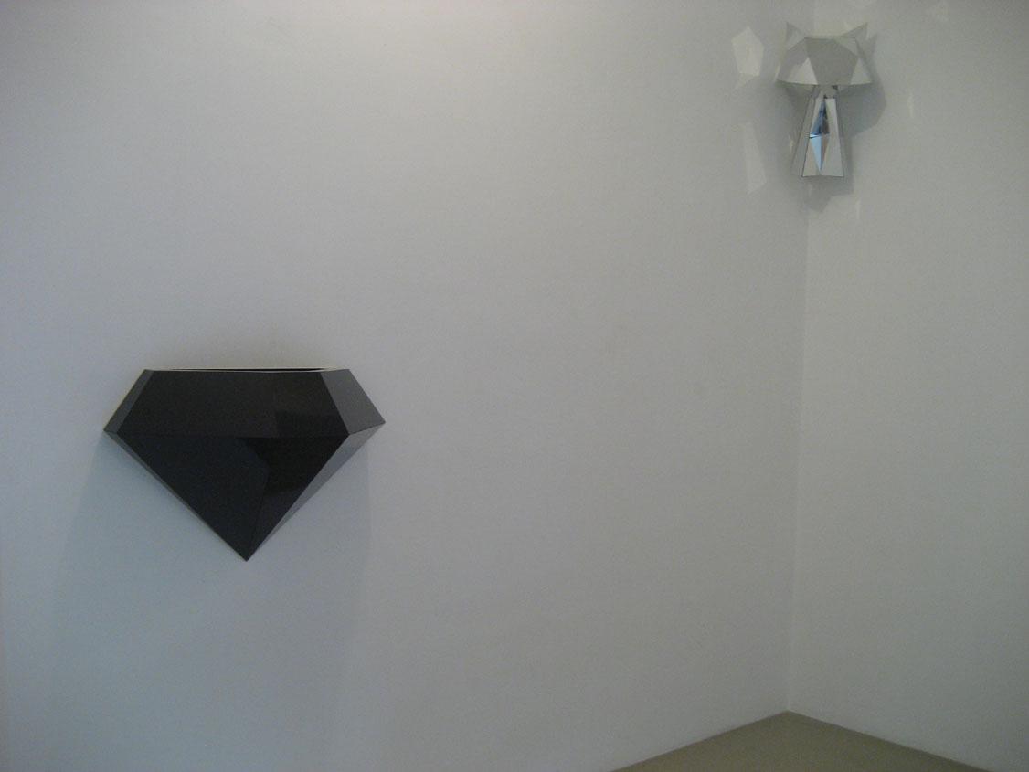 Eleanor & James Avery, Fonte ,laminate on plywood, cm 55x77x39