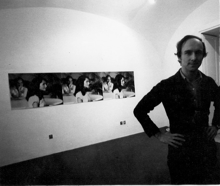 James Collins,  opere fotografiche - film , 21 gennaio 1976  Ph Bruno del Monaco