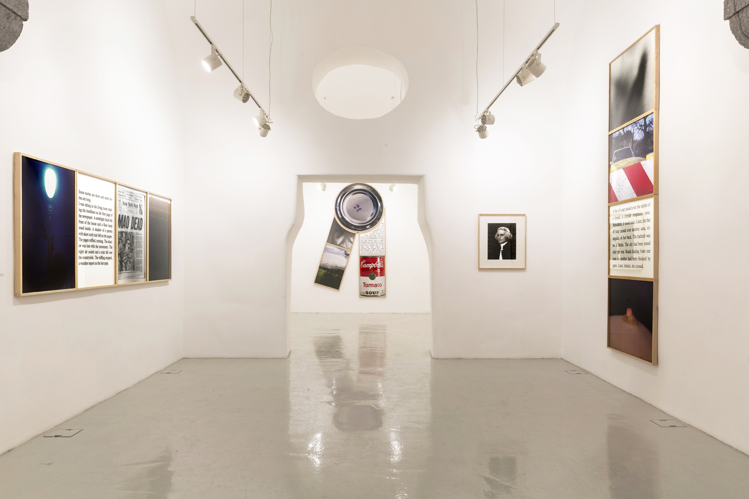 Bill Beckley,  Elements of Romance. Works from the Seventies , installation view  21 gennaio - 8 aprile 2016  -  comunicato stampa / press release