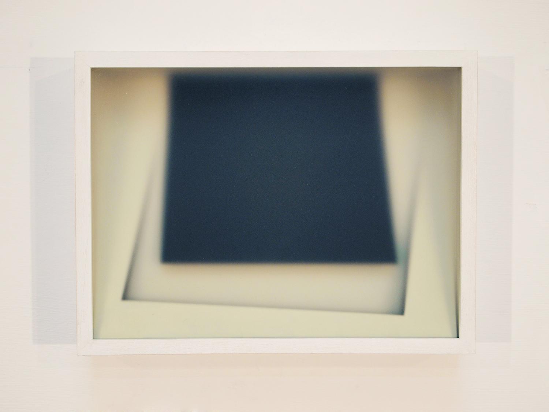 Corpi fragili ,2016,glass, paper, wood,cm 23,5x31