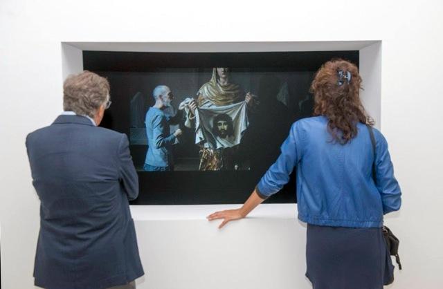 Vera Icon , 2014  audio video installation. HD 11'26'' English. Variable dimensions