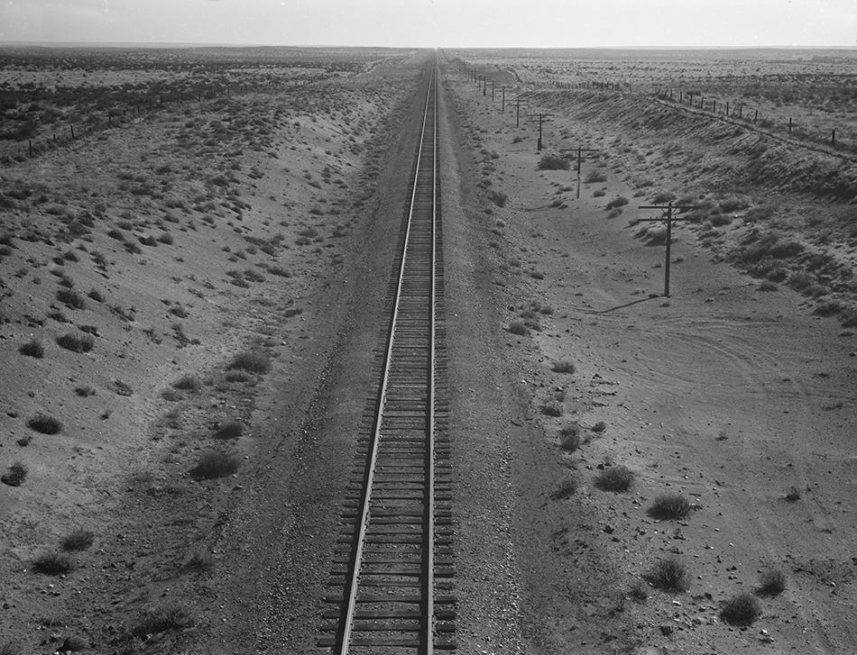 Dorothea Lange,  Western Pacific Line , Morrow County, Oregon, 1939, cm 40x30, framed cm 55x55