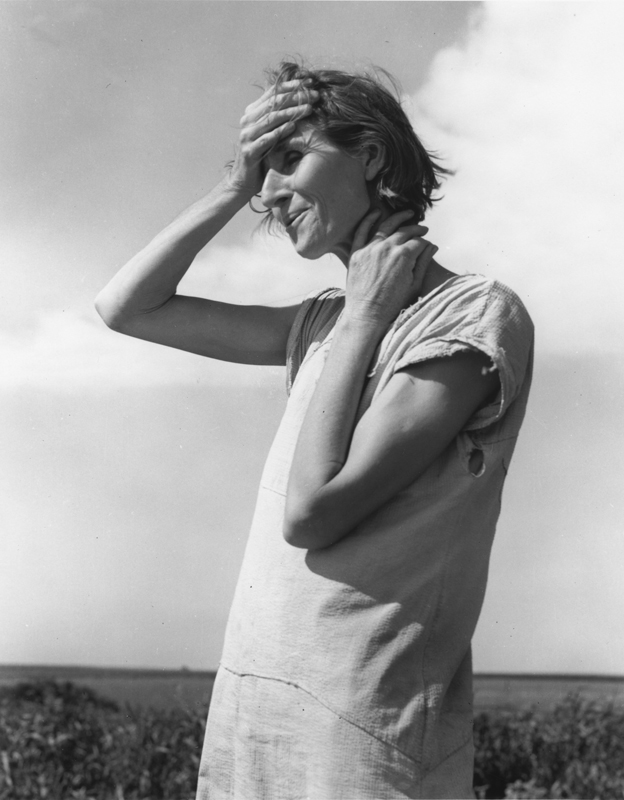 Dorothea Lange, Woman of the High Plains , Texas Panhandle, 1938, framed cm 81x66