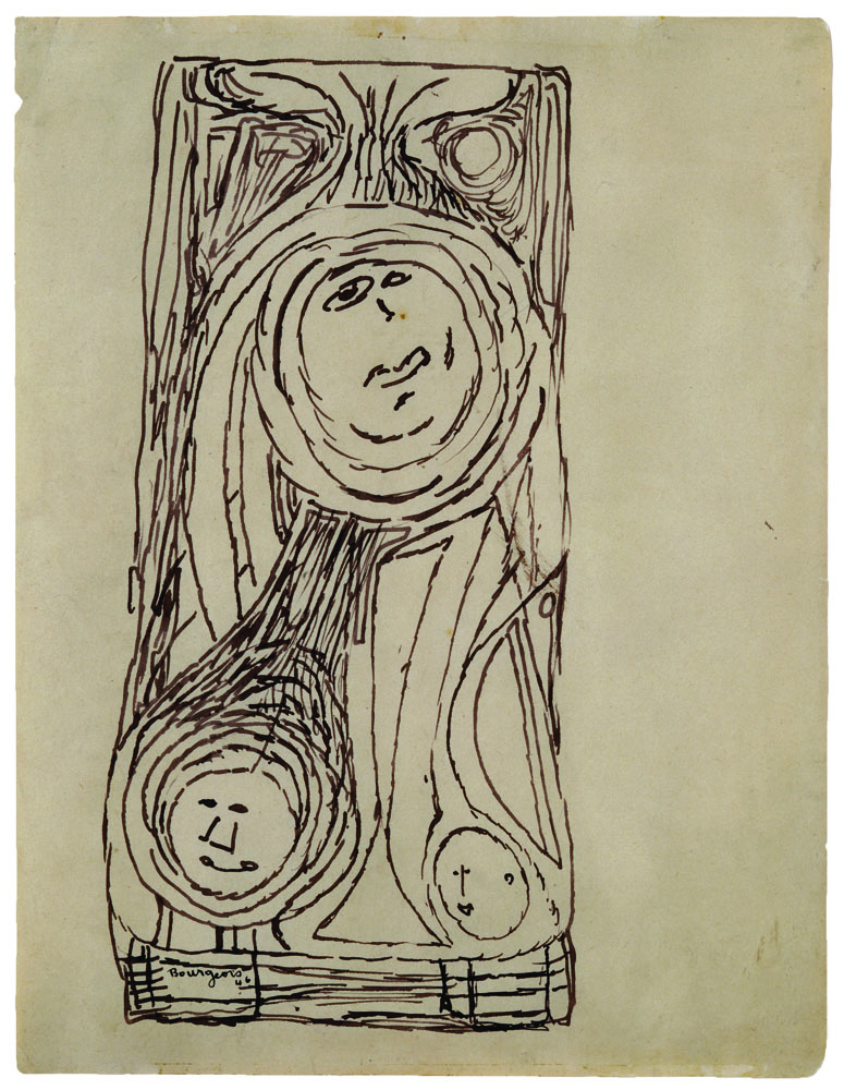 Untitled , 1946,ink on paper,27.8 x 21.3 cm Ph Christopher Burke © The Easton Foundation/SIAE