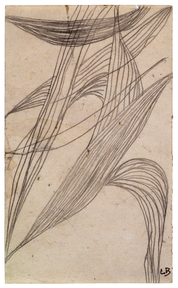 Untitled , 1947,pencil on paper,12.7 x 7.6 cm Ph Christopher Burke © The Easton Foundation/SIAE